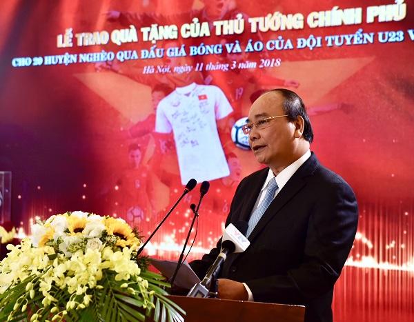 Thủ tướng Nguyễn Xuân Phúc tham dự và phát biểu tại sự kiện ý nghĩa này